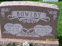 Marion Evelyn <I>Housman</I> Bowlby