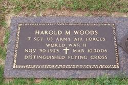 Harold M Woods