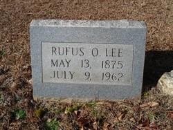 Rufus O. Lee