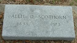 Allie Mary <I>Davis</I> Scothorn