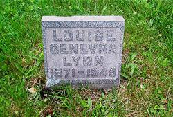 Louise Genevra Lyon