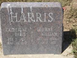 Catherine <I>Davis</I> Harris
