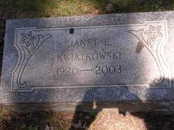 Janet E Kwiatkowski