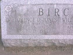Florence D. <I>Jones</I> Birch