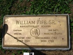 "William ""Capt. Billy"" Fife, Sr"