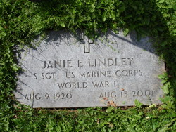 Janie Elizabeth <I>Morrison</I> Lindley