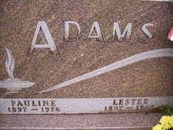 Alice Pauline <I>Shreve</I> Adams