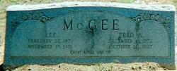 Fred Albert McGee