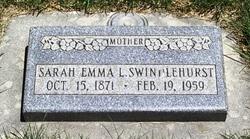 Sarah Emma <I>Law</I> Swindlehurst