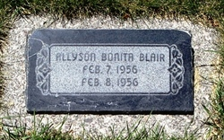 Allyson Bonita Blair