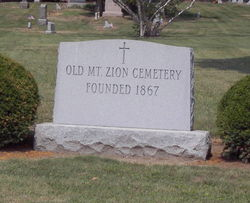 Old Mount Zion Cemetery
