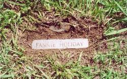Fannie E. <I>Wardlow</I> Holliday
