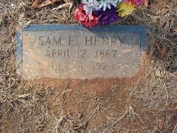 """Samuel E. """"Sam"""" Henry"""