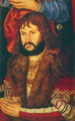 """Johann """"the Constant"""" von Sachsen"""