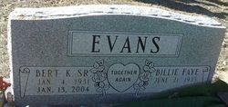 Billie Faye <I>Lindley</I> Evans