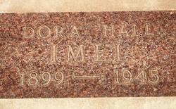 Dora Wilma <I>Hall</I> Imel