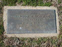 PFC Harold H. Norman