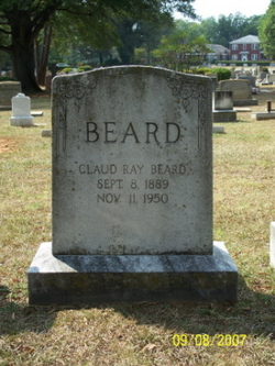 Claud Alfred  Ray Beard