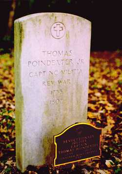 Capt Thomas Poindexter Jr.