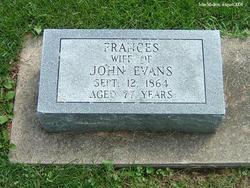 Frances <I>Hardesty</I> Evans