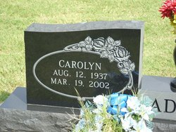 Carolyn Fay <I>Fade</I> Adams