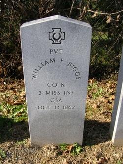 Pvt William F. Biggs
