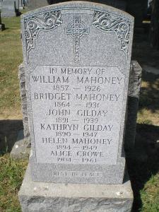 Alice <I>Mahoney</I> Crowe