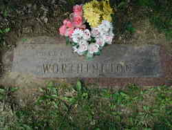 """Clara Olive """"Ollie"""" <I>Timm</I> Worthington"""