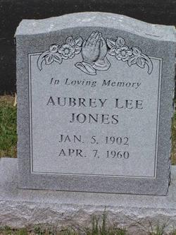 Aubrey Lee Jones