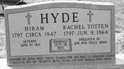 Rachel Totten <I>Irvin</I> Hyde