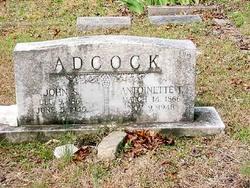 Antoinette T. <I>Griffin</I> Adcock
