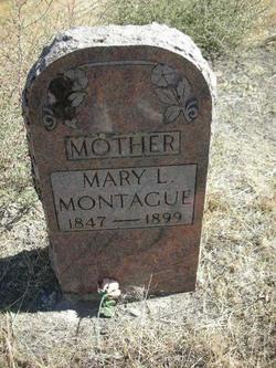 Mary Lavisa <I>Yates</I> Montague