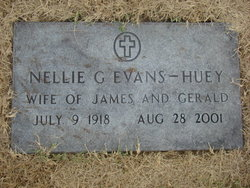 Nellie Grace <I>Sellman</I> Evans