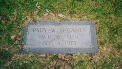 Pady Sue <I>Whitcomb</I> McCants