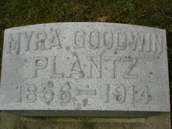 Myra <I>Goodwin</I> Plantz