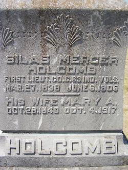 Silas Mercer Holcomb