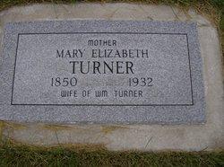 Mary Elizabeth <I>Gardner</I> Turner