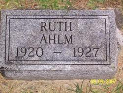 Ruth Ahlm