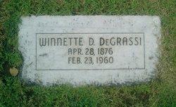 Winnette Duke DeGrassi
