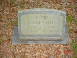 """Mary Susan """"Dollie"""" <I>Davis</I> Blitch"""