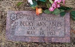 Becky Ann Ables