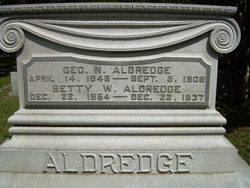 Betty W <I>Hearne</I> Aldredge