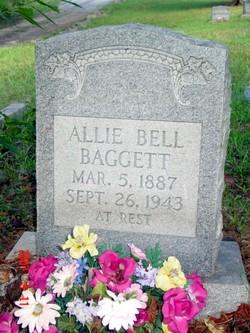 Allie Bell <I>Brunson</I> Baggett