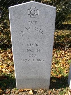 Pvt B W Bell
