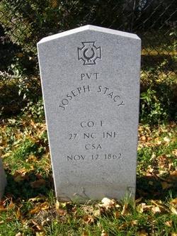 Pvt Joseph Stacy