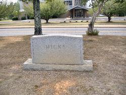 Nora <I>Reese</I> Hicks
