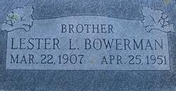 Lester Lee Joe Bowerman
