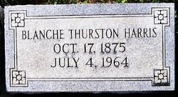 Blanche <I>Thurston</I> Harris