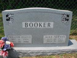 Alice Shell <I>Newman</I> Booker