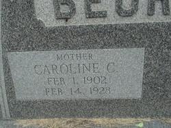 Caroline C. <I>Gast</I> Beurman
